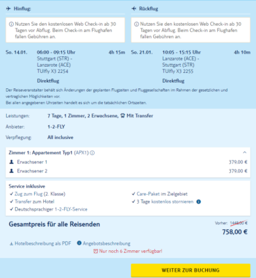 7 Tage Fuerteventura