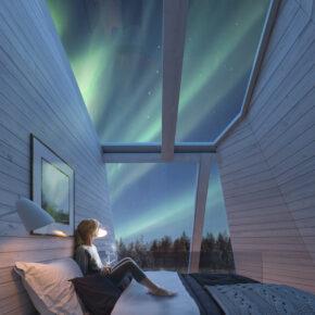 Glashaus Schlafzimmer