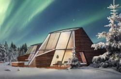 Polarlichter: 2 Tage in Finnland mit privatem Glashaus, Frühstück, Whirlpool & Sauna für...