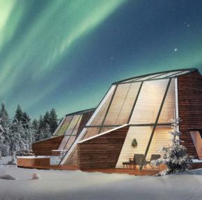 Polarlichter: 2 Tage in Finnland mit privatem Glashaus, Frühstück, Whirlpool & Sauna für 215€