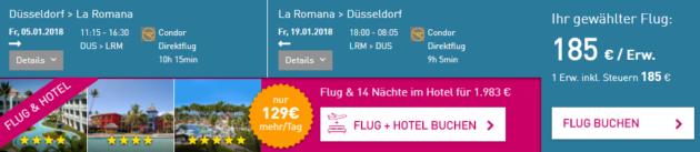 Flug Düsseldorf La Romana