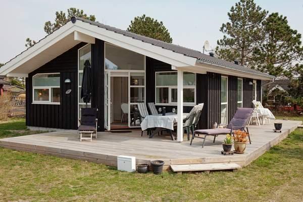 Ferienhaus Dänemark Stillinge Strand Außenansicht