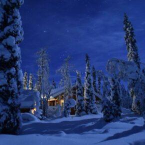 Ruhe & Abenteuer in Lappland: 8 Tage im Blockhaus mit Sauna nur 154€