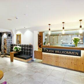 Hotel Grosslehnen Rezeption