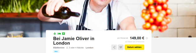 London Jamie Oliver Angebot