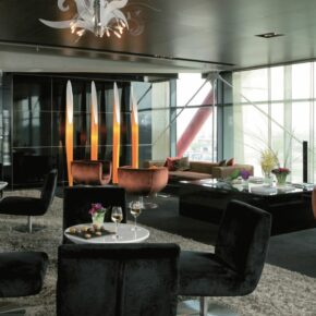NH Collection Barcelona Tower Lobby