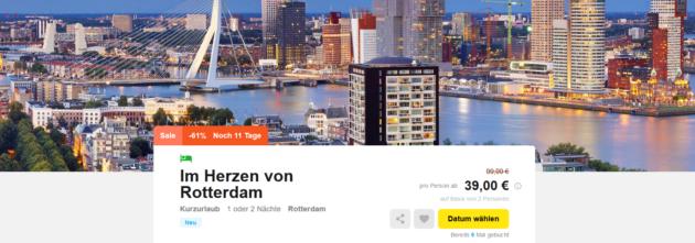 2 Tage Rotterdam