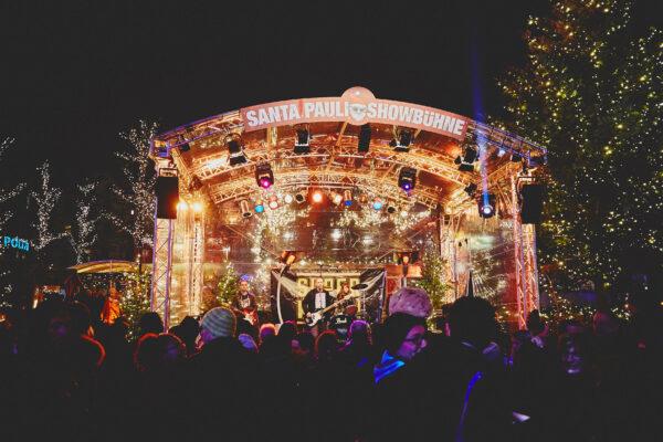 Santa Pauli Bühne