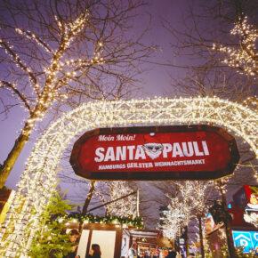Hamburgs geilster Weihnachtsmarkt: 2 Tage Santa Pauli mit zentralem 4* Hotel & Frühstück nur 42€