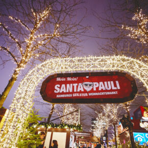 Santa Pauli Eingang