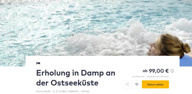 2 Tage Ostsee