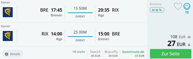 3 Tage Riga