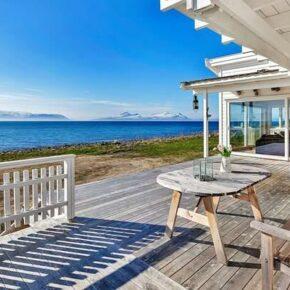 Norwegen mit Freunden: 8 Tage im Ferienhaus direkt am Fjord mit Whirlpool & Sauna nur 136€