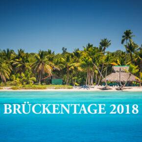 Brückentage 2018: So macht Ihr mit 28 Urlaubstagen 73 Tage frei