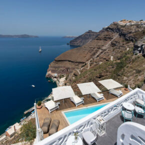 Athina Luxury Suites Ausblick