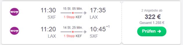 Berlin nach Los Angeles