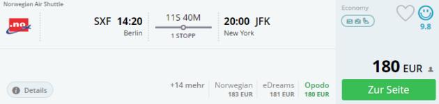 Berlin nach New York