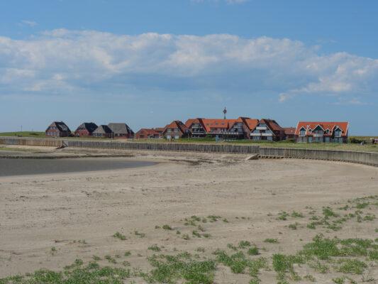 Deutschland Baltrum Häuser