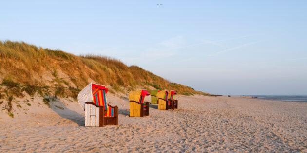 Deutschland Föhr Strand