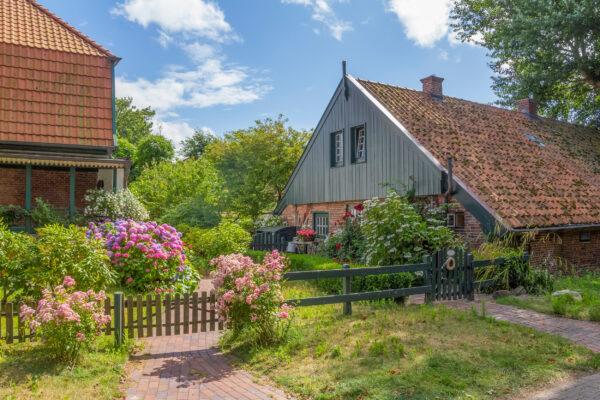 Deutschland Spiekeroog Dorf