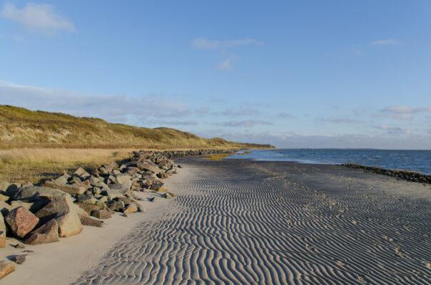Deutschland Wangerooge Sand