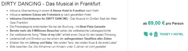 DIRTY DANCING Frankfurt
