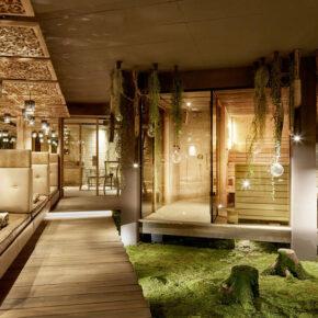 Eder Hotel Saunalandschaft