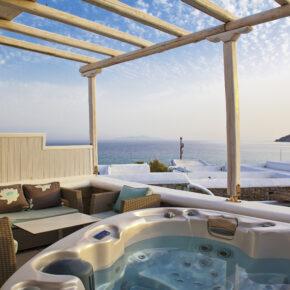 Luxus-Urlaub: 5 Tage Mykonos in TOP 5* Junior Suite mit Frühstück & Flug nur 264€