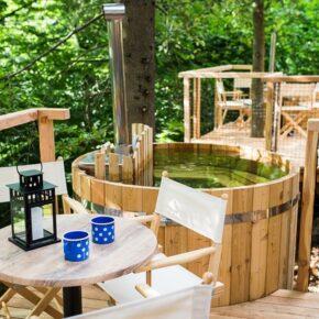 Urlaub im Baumhaus mit Whirlpool: 2 Tage Slowenien mit Frühstück, Sauna & Casino für 54€