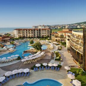 Bulgarien: 7 Tage im TOP 4.5* Award-Hotel mit All Inclusive, Flug, Transfer & Zug nur 326€