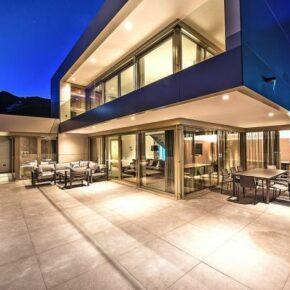 Luxus Ferienvilla Terrasse