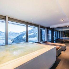 Luxus Ferienvilla Schlafen Whirlpool