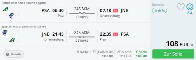 Pisa Flight