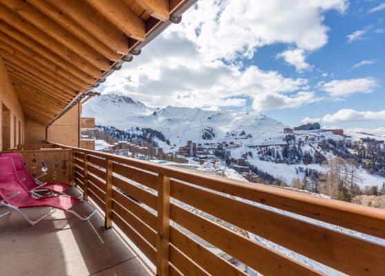 Residence le Sun Valley Balkon