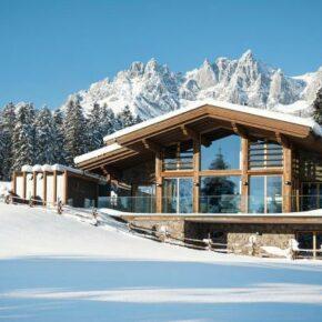 Österreich: 8 Tage im Luxus-Chalet am Wilden Kaiser mit Whirlpool & Sauna für 506€