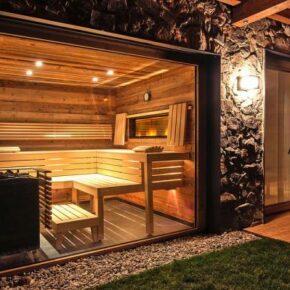 TIMELESS HIDEAWAY Sauna