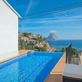 Spanien: 8 Tage Costa Blanca in eigener Villa mit Infinity-Pool & Meerblick ab 90€