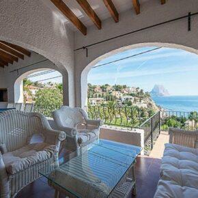 Villa Calpe Terrasse