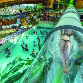Wasserspaß im Sauerland: 2 Tage im Ferienhaus mit Eintritt ins AquaMagis am Wochenende nur 54€