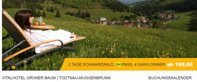 3 Tage Schwarzwald