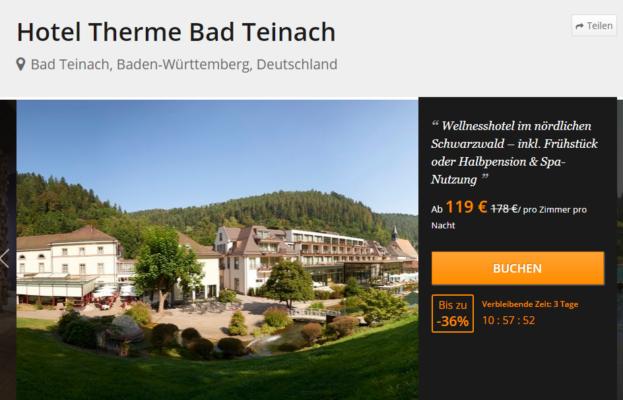 3 Tage Bad Teinach