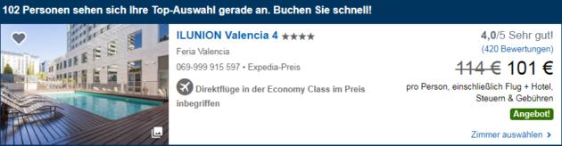 4 Tage Valencia