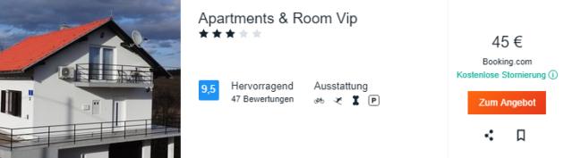 8 Tage Kroatien Apartment