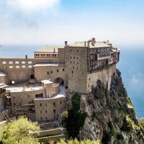 Griechenland Athos Kloster