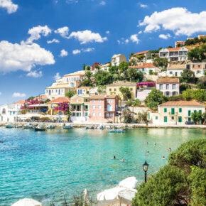 Griechenland: 8 Tage Kefalonia mit TOP 3* Apartment in Strandnähe & Flug nur 148€