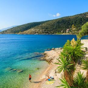 Griechenland Kefalonia Strand