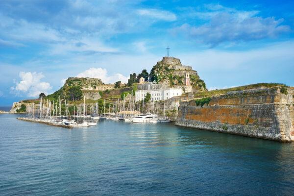 Griechenland Korfu Festung
