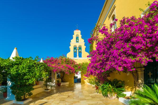 Griechenlands Insel Korfu