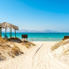 Griechenland im August: 7 Tage Kos mit TOP 3* Hotel, Frühstück, Flug, Transfer & Zug nur 296€