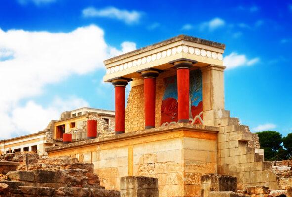 Griechenland Kreta Knossos